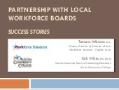 Partnerships With Workforce Boards ...