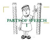 Parts Of Speech I