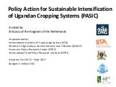 Policy Action for Sustainable Inten...