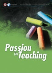 Passion for teaching