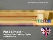 English Grammar - Past Tense 1