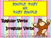 Past simple grammar explanation