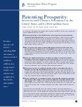 Patenting Prosperity: Invention and Economic Performance in the United States and its Metropolitan Areas