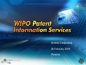 Patent scope ompi