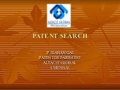 Patent search