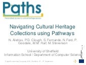 PATHS at Digital Humanities Congres...