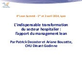 L'indispensable transformation du s...