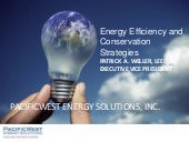 Energy Efficiency and Conservation ...
