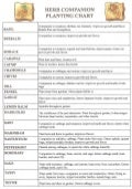 Vegetable Companion Planting Chart - Pattysplants