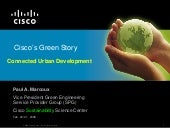 Paul Marcoux - Cisco - Cisco's Gree...