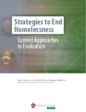Strategies to End Homelessness: Cur...