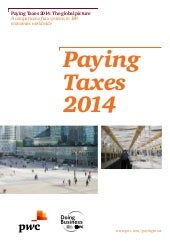 Paying Taxes 2014 Informes PwC