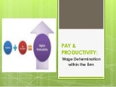 Pay & productivity