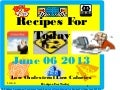 recipes for today june 06 2013