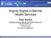 Peter Bartlett The right to the hig...