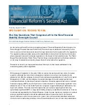 Dodd-Frank Regulatory Rulemaking: F...