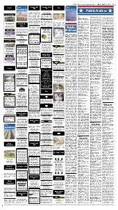 Public notices for April 13, 2012