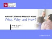 IBM Patient-Centered Medical Home P...