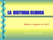 Pd02Historia clinica 2/2. Prof. Rub...