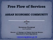 Presentation : Free Flow of Service...