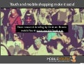 (mobileYouth) Youth and Mobile Shopping: Make it Social