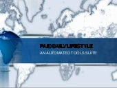 PDL Automated Software Suite