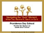 Providence Day School Navigating Ouch Moments