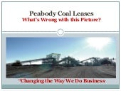 Peabody Coal Leases