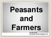 Peasants and farmers