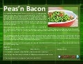 Peas'n bacon