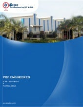 Satec Pre-engineered buildings