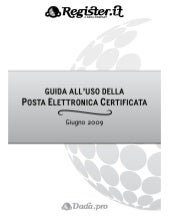 PEC - guida all'uso Register.it