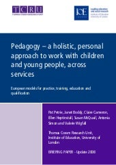 Pedagogy Briefing Paper