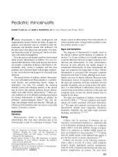Pediatric rhinosinusitis 1997-otola...