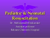 Pediatric And Neonatal Resuscitation