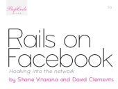 Peepcode facebook-2-rails on facebook