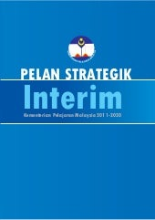 Pelan strategik interim kpm 2011 2020