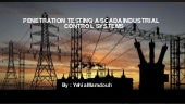 Scada Industrial Control Systems Penetration Testing
