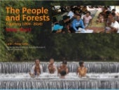 People and forests trajectory