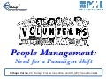 People Management: Need for Paradigm Shift