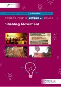 Shabag Movement: People's Insights Vol. 2 Issue 3
