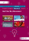 Half the Sky Movement: People's Insights Vol. 2 Issue 4