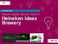 People's Insights Volume 1, Issue 18 : Heineken Ideas Brewery