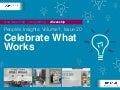 People's Insights Volume 1, Issue 20 : Celebrate What Works