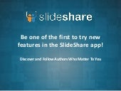 People Discovery on SlideShare's Android App