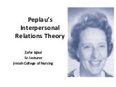 Peplau's+interpersonal+relations+th...