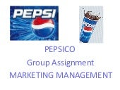 Pepsi group assignment 20110918 final