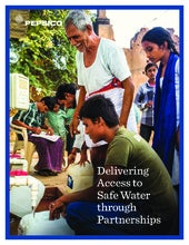 PepsiCo: Delivering Access to Safe Water through Partnerships