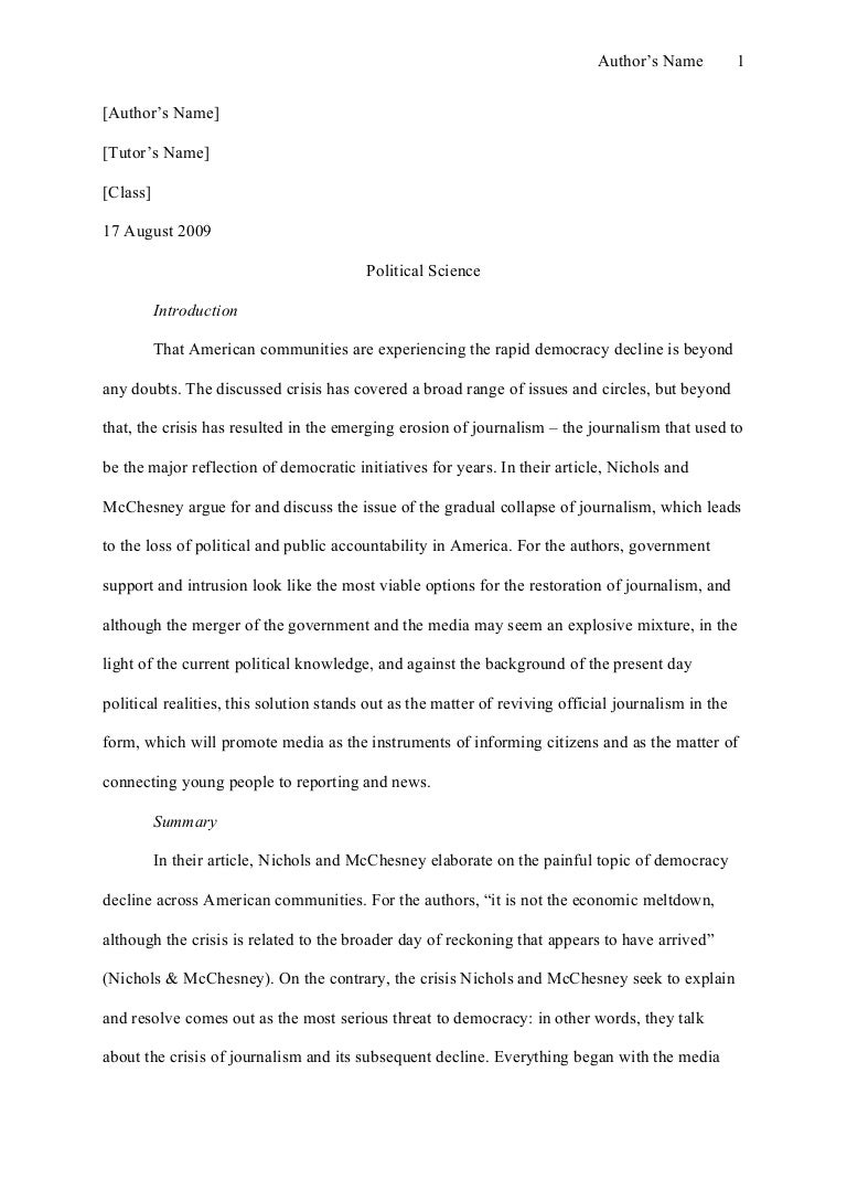 Compare and contrast essay mla