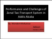 Performance and challenges of zonal...